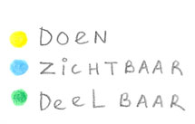 Doen, Zichtbaar, Deelbaar
